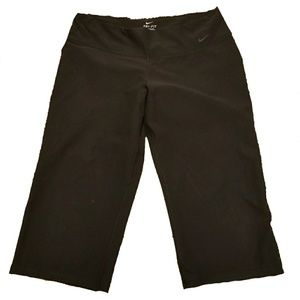 Nike Dri Fit Cropped Black Leggings